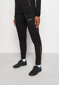 Nike Performance - ACADEMY 21 TRACKSUIT - Treningsdress - black/saturn gold - 5