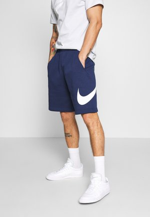 Shorts - midnight navy/white