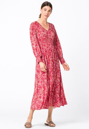 MIT SMOKDETAILS - Day dress - red