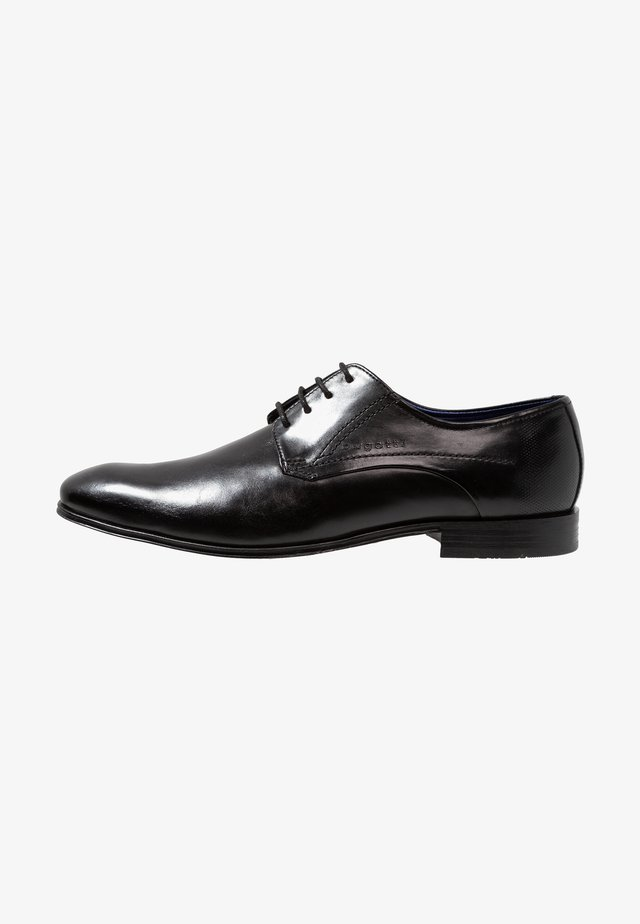 MATTIA - Smart lace-ups - black