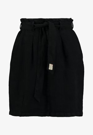 COMFY SKIRT - A-linjainen hame - black
