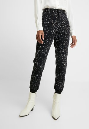 JANEY PANT NICA FIT - Trousers - black