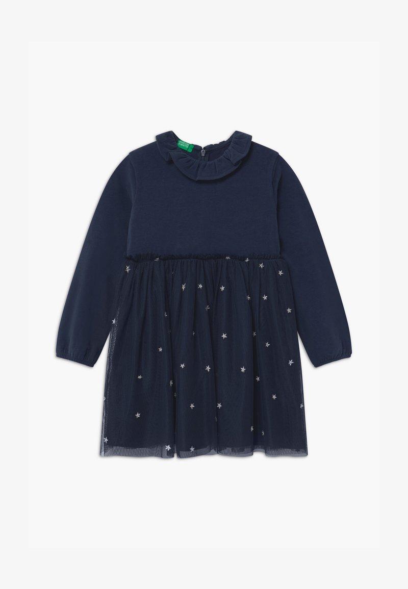 Benetton - Jersey dress - dark blue