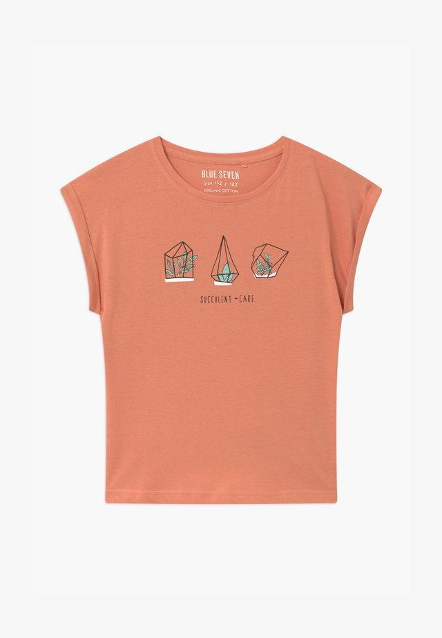 TEEN GIRL LOVE WILD PLANTS - T-shirt print - ginger