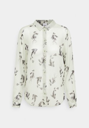 CELESTE - Button-down blouse - desert sage