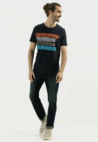 camel active - Print T-shirt - night blue - 1