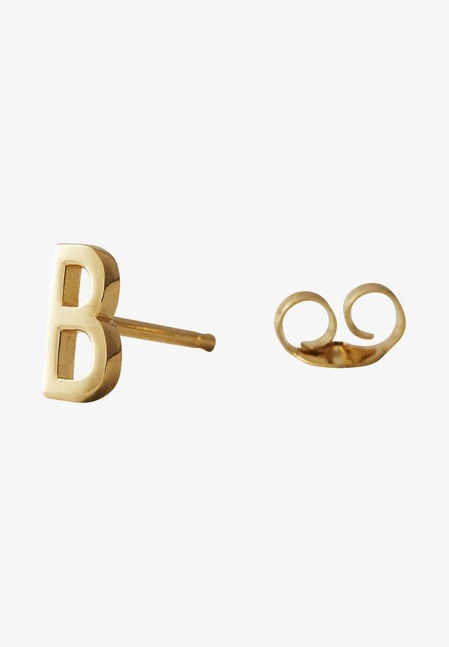 EARRING STUDS ARCHETYPES - B - Øreringe - gold