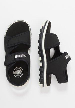 SKUBA - Chodecké sandály - black