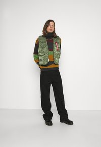 Another Influence - ROLL NECK SCENIC JUMPER - Trui - charcoal - 1