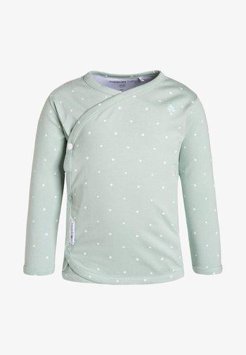 ANNE  - Longsleeve - grey mint
