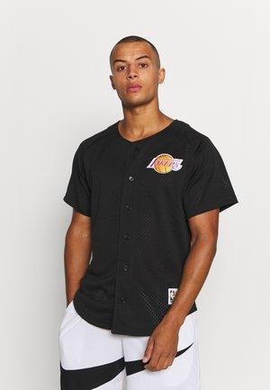 NBA LA LAKERS BASEBALL - Klubové oblečení - black