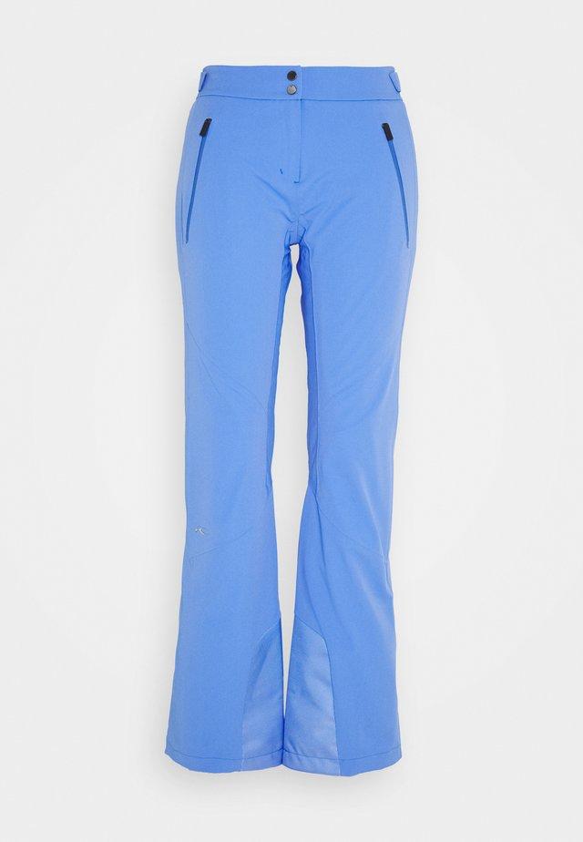 WOMEN FORMULA PANTS - Snow pants - periwinkle blue