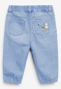 Next - BUTTERFLY - Straight leg jeans - blue denim - 1