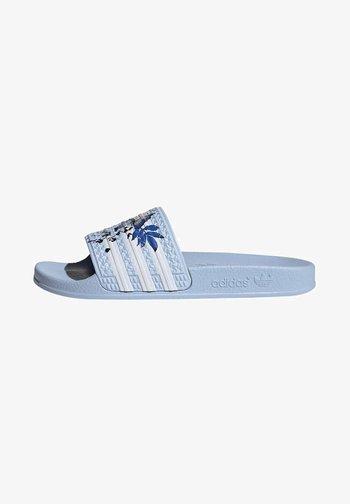 ADILETTE ORIGINALS - Sandali da bagno - blue