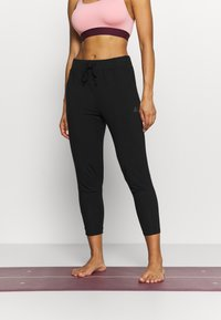 Curare Yogawear - 7/8 PANTS - Pantaloni sportivi - black - 0