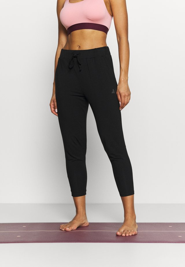 7/8 PANTS - Trainingsbroek - black