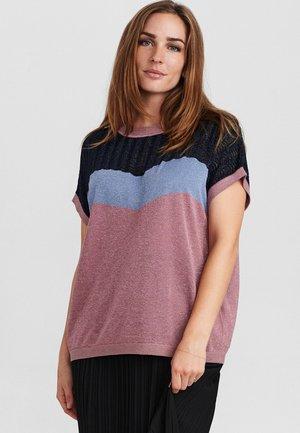 T-shirt print - dark sapphire