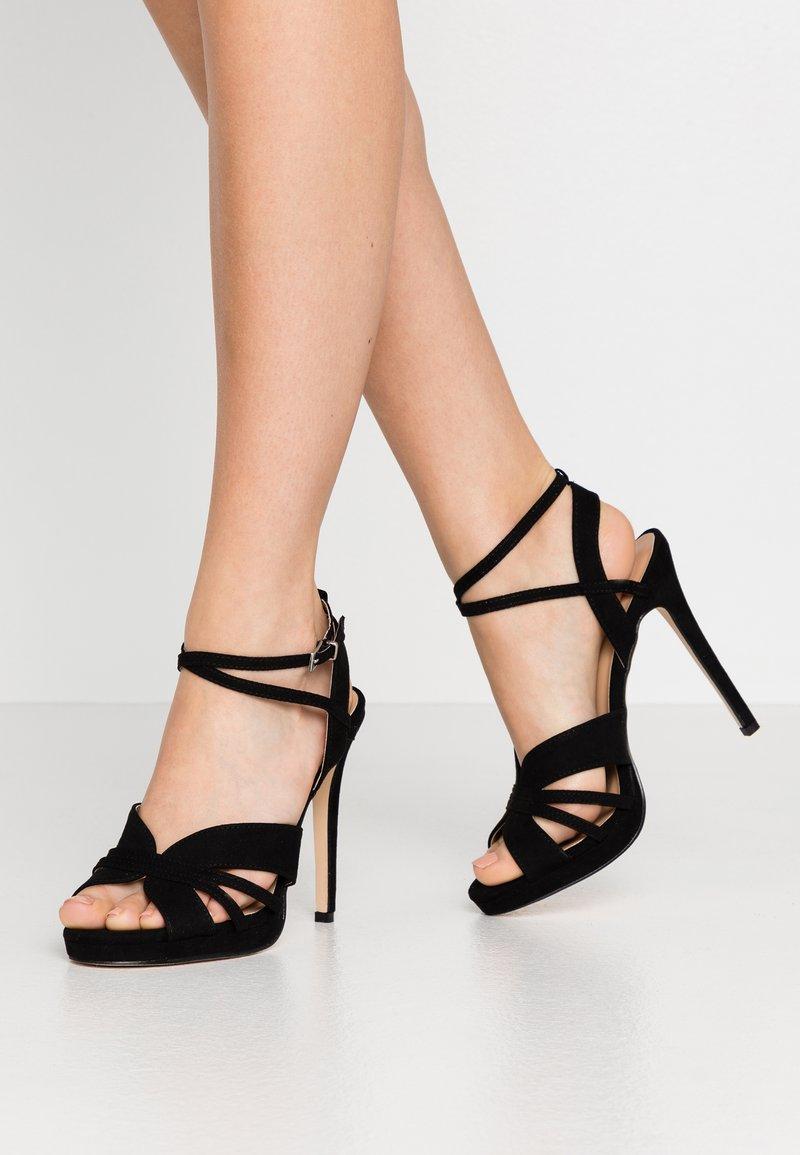 Anna Field - Sandaler med høye hæler - black