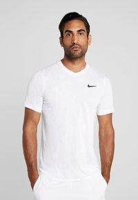 Nike Performance - DRY  - Camiseta básica - white/black - 0