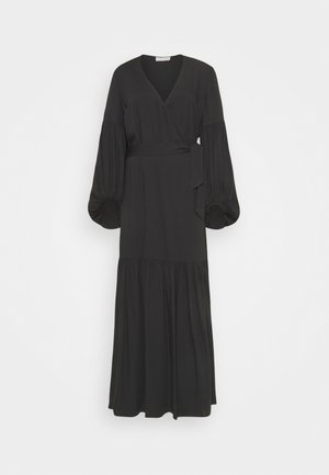 FRILLA - Maxikleid - black