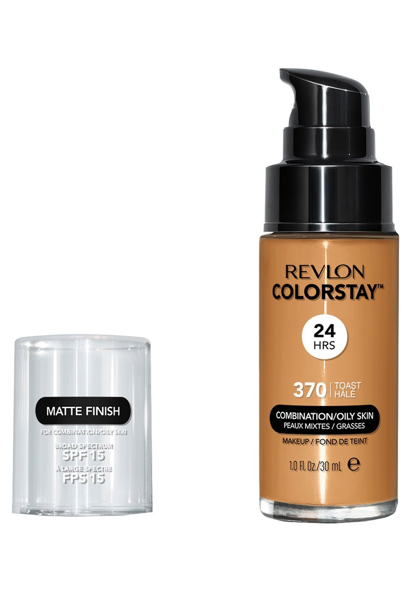 Revlon - COLORSTAY MAKE-UP FOUNDATION FOR OILY/COMBINATION SKIN - Foundation - N°370 toast