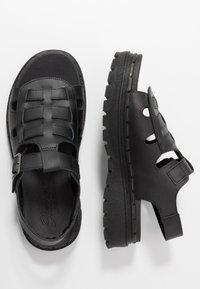 Skechers Sport - JAMMERS - Platform sandals - black - 3