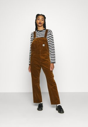 OVERALL STRAIGHT - Dungarees - tawny