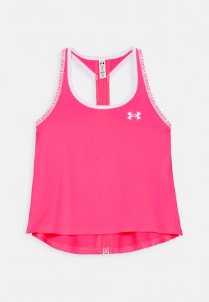 KNOCKOUT TANK - Sports shirt - cerise