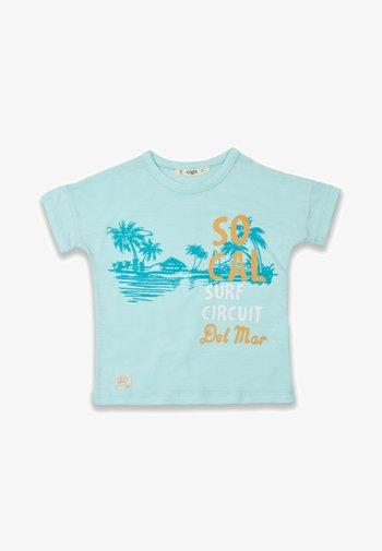 SURF CIRCUIT - Print T-shirt - turquoise