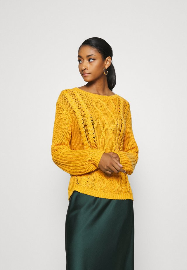 ENGLAND SKIES - Sweter - mineral yellow