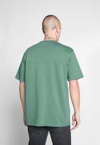 Mennace - ESSENTIAL SIGNATURE TEE 2 PACK - Basic T-shirt - teal/grey marl - 3