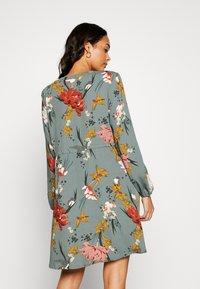 ONLY - ONLELEONORA DRESS - Day dress - balsam green/flower - 2
