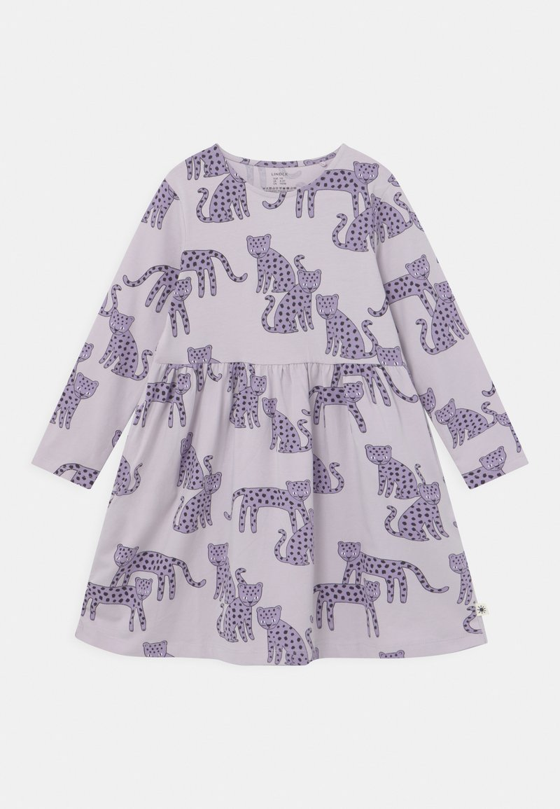 Lindex - MINI LEO - Žerzejové šaty - light lilac