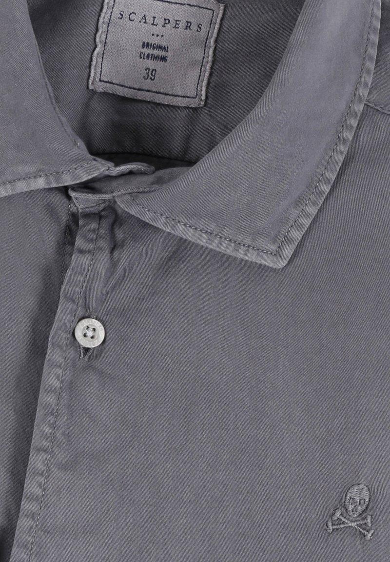 Scalpers Hemd - grey/grau 8b0bmT