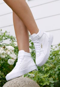Puma - CALI SPORT WARM UP - High-top trainers - white - 4