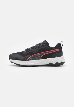 BETTER FOAM XTERRA - Trail running shoes - black/sunblaze