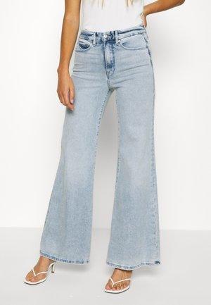 PALLAZO - Flared Jeans - blue