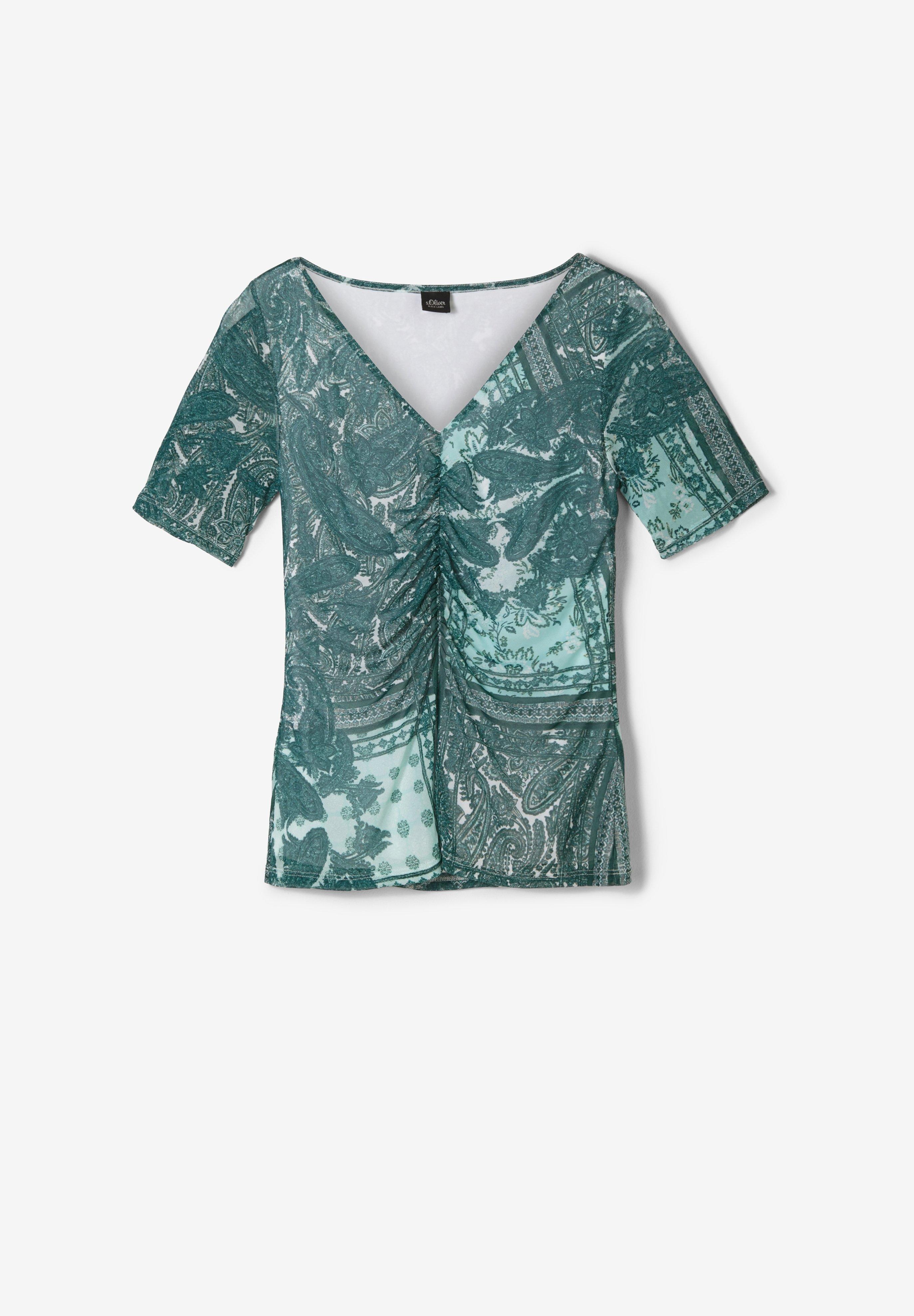 Damen MIT RAFFUNG - T-Shirt print