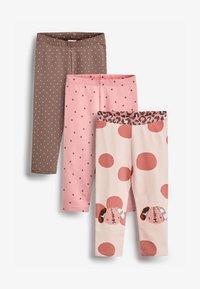 Next - 3PACK - Leggings - Trousers - pink - 0