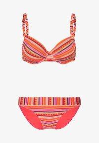 LASCANA - WIRE SET - Bikini - orange - 3