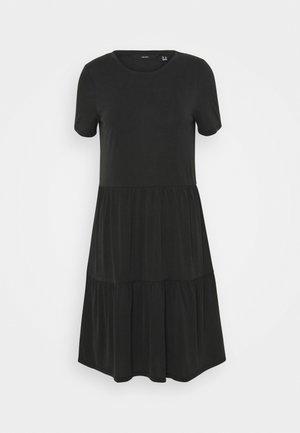 VMFILLI CALIA DRESS - Jersey dress - black