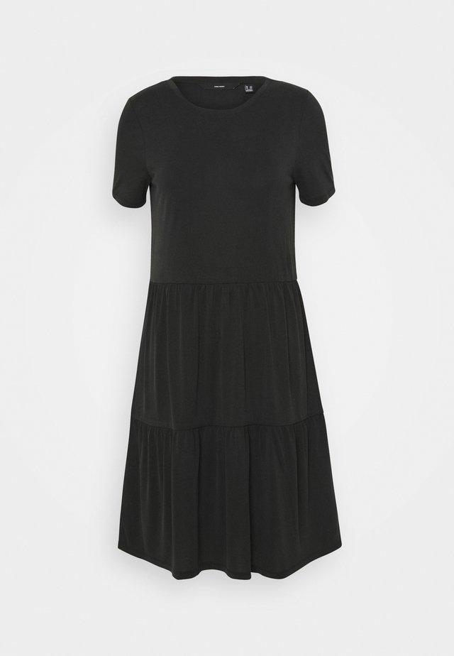 VMFILLI CALIA DRESS - Vestito di maglina - black