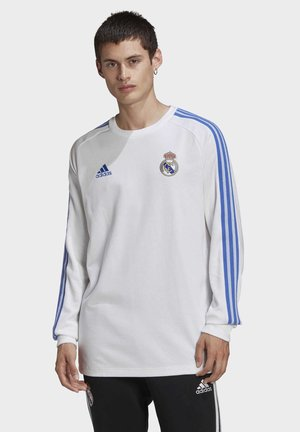 REAL MADRID ICONS LONG-SLEEVE TOP - Article de supporter - white