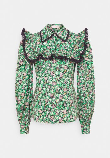 DEMI - Blouse - classic green
