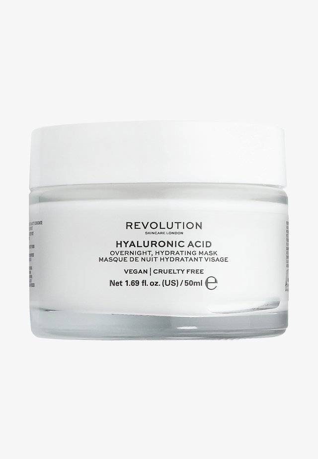 HYALURONIC ACID OVERNIGHT HYDRATING FACE MASK - Nachtverzorging - -