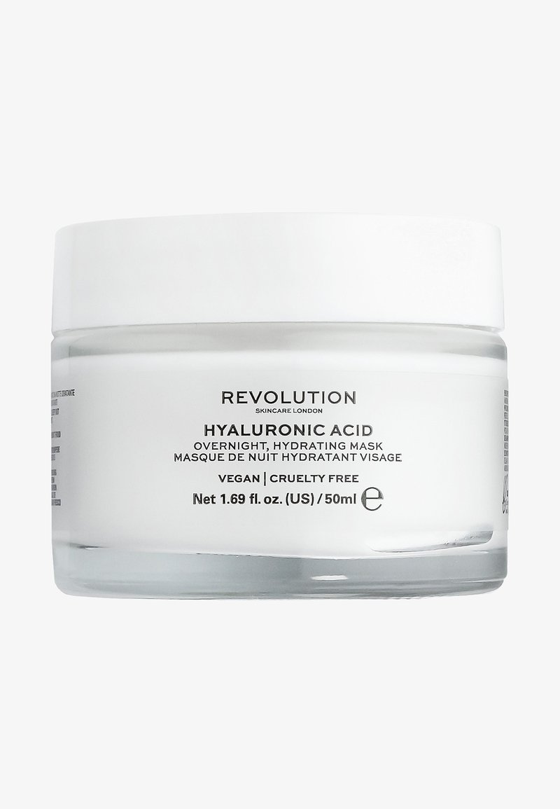 Revolution Skincare - HYALURONIC ACID OVERNIGHT HYDRATING FACE MASK - Nachtverzorging - -
