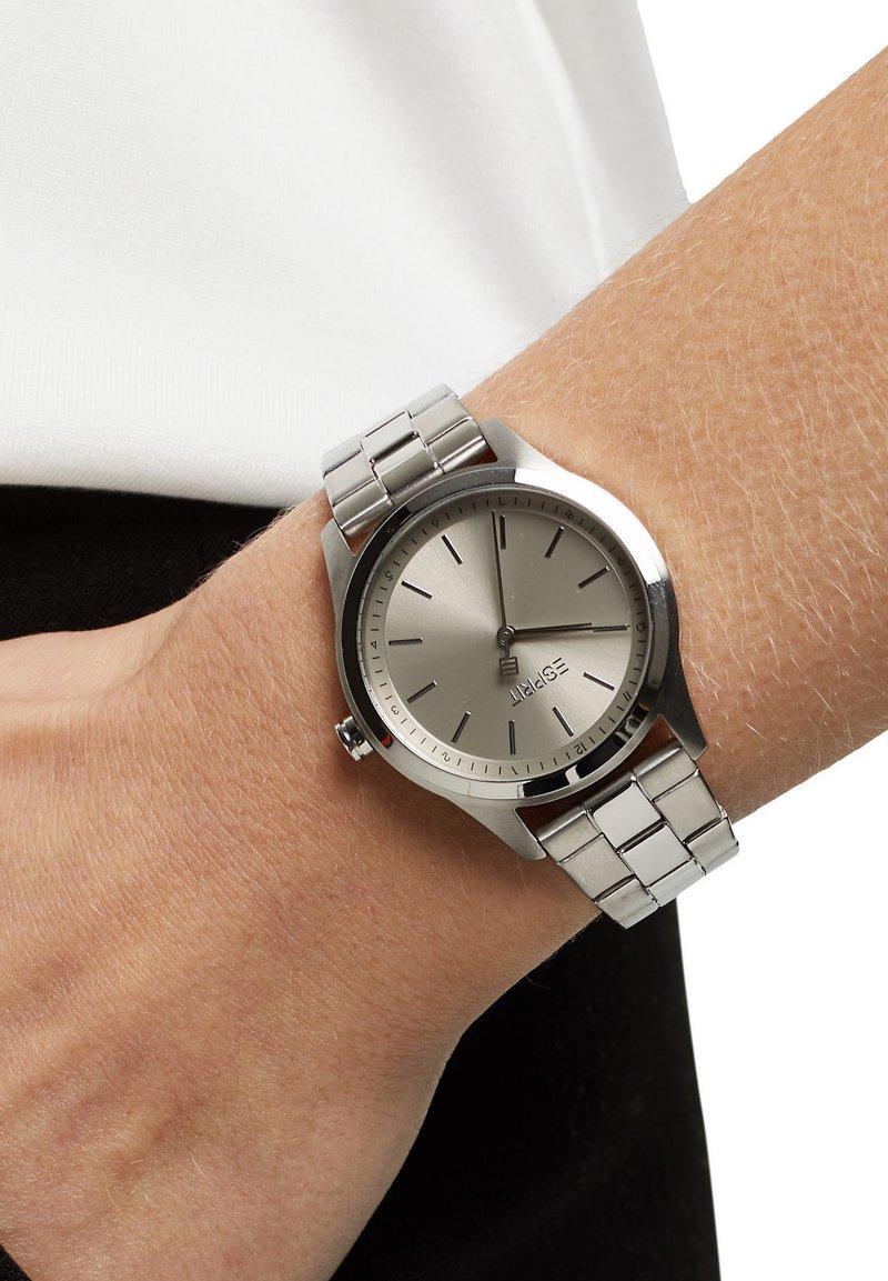Esprit - MIT GLIEDERARMBAND - Watch - silver