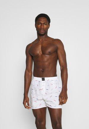 SINGLE PATTERN - Boxer shorts - white