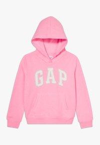 GAP - GIRL LOGO HOOD - Sweater - neon impulsive pink - 0