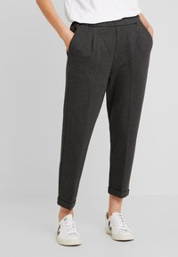 Benetton - CIGARETTE PANT - Trousers - grey - 0